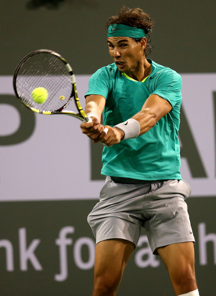 Rafael Nadal - 2013 BNP Paribas Open: Day 9