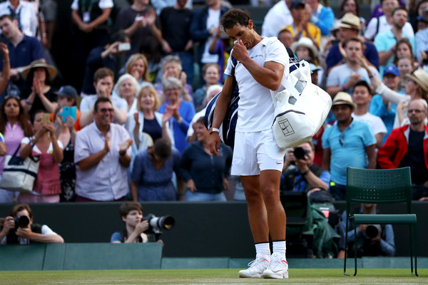 Rafael Nadal Vows To Return To Wimbledon After 'Lost Opportunity'