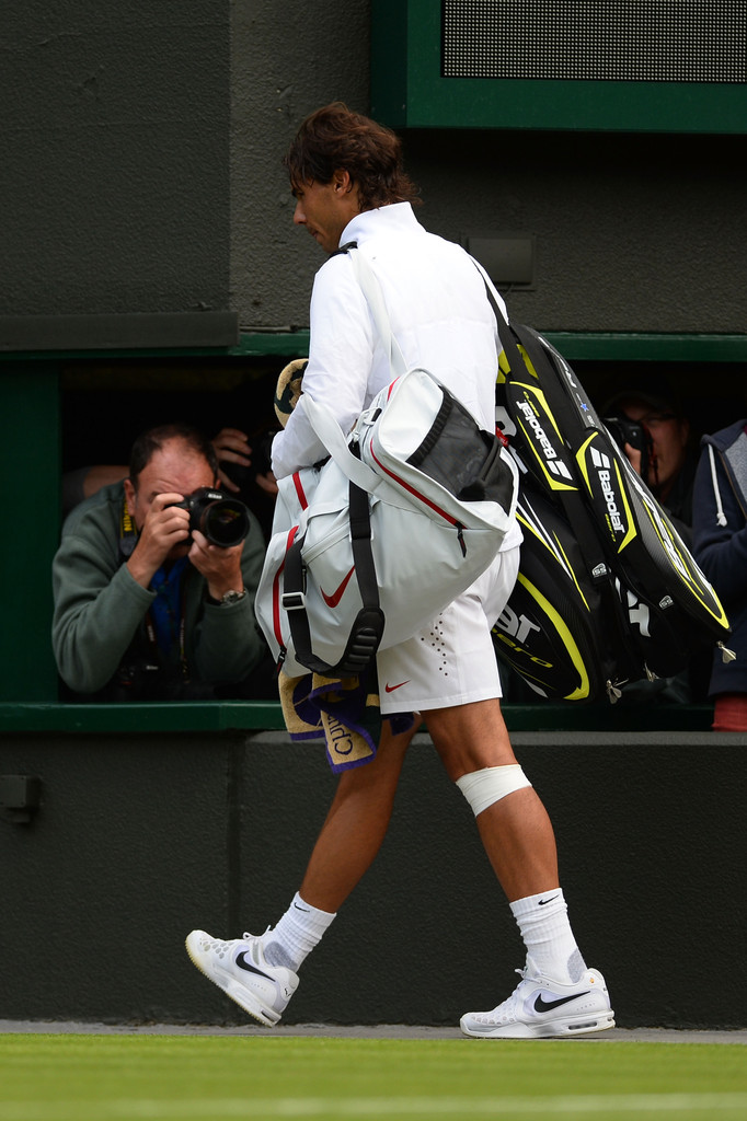 Rafael+Nadal+General+Views+Wimbledon+Ope