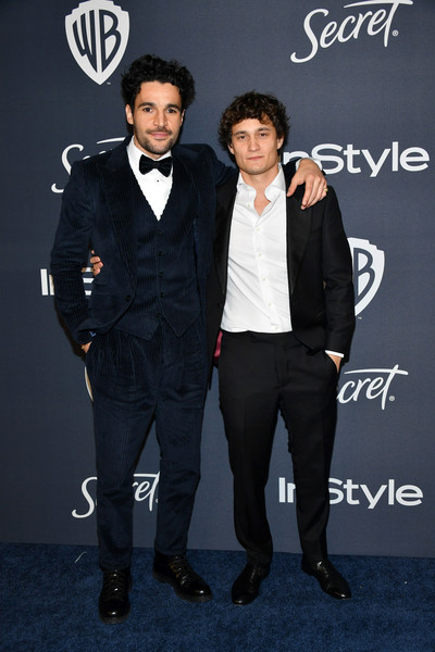 21st Annual Warner Bros. And InStyle Golden Globe After Party - Arrivals [suit,tuxedo,formal wear,premiere,fashion,event,outerwear,carpet,white-collar worker,performance,rafi gavron,christopher abbott,beverly hills,california,the beverly hilton hotel,warner bros,instyle golden globe,instyle golden globe after party,arrivals,jensen ackles,danneel ackles,golden globe awards,actor,hollywood,warner bros.,celebrity,hollywood foreign press association,golden globe ambassador]