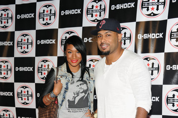 Raheem Brock Celebs at the G-Shock Event in NYC