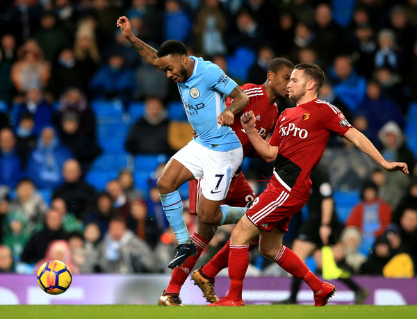 Manchester City Vs. Watford - Premier League []