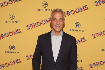 Rahm Emanuel Refinery29's 29Rooms Chicago: Turn It Into Art Opening Party 2018
