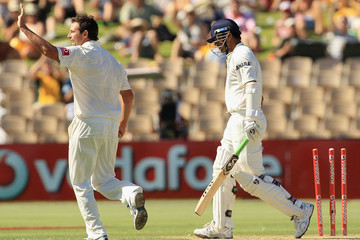 Rahul Dravid Australia v India - Fourth Test: Day 2