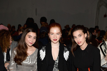 Rainey Qualley Creatures of the Wind - Front Row - February 2017 - New York Fashion Week: The Shows