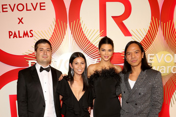Raissa Gerona Michael Mente Revolve's Second Annual #REVOLVEawards