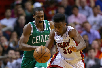Rajon Rondo Boston Celtics v Miami Heat