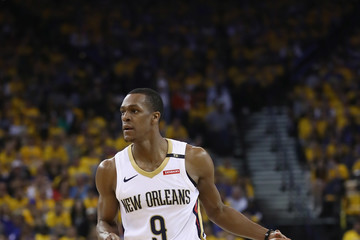 Rajon Rondo New Orleans Pelicans vs. Golden State Warriors - Game Two