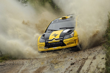 Dale Moscatt Rally of Poland -  Day Two