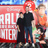 Hamish Blake and Zoe Foster Blake attend the Ralph Breaks The Internet Australian Premiere at Hoyts Melbourne Central on December 4, 2018 in Melbourne, Australia.