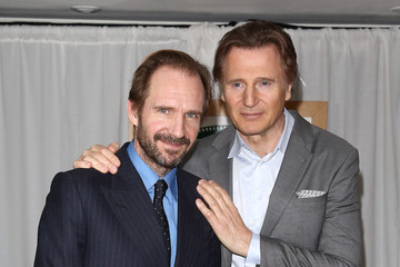 Ralph Fiennes Liam Neeson Jameson Empire Awards 2015 - Winners Room