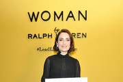 Zoe Lister-Jones attends Sisterhood Of Leaders hosted by Ralph Lauren Fragrances and Women In Film at Waldorf Astoria Beverly Hills on October 24, 2018 in Beverly Hills, California.
