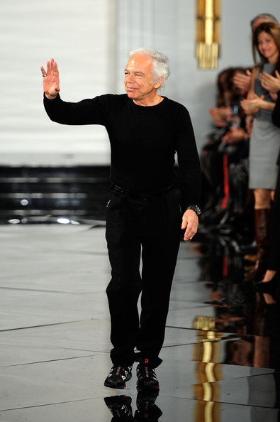 ... Ralph Lauren Designer Ralph Lauren walks the runway at the Ralph Lauren Fall 2011 fashion show