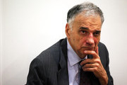 """Former presidential candidate Ralph Nader listens during a news conference July 2, 2012 at Public Citizen in Washington, DC. Nader held a news conference to announce an """"upcoming limited general strike to protest the colonial status of the District of Columbia and to support D.C. statehood."""""""