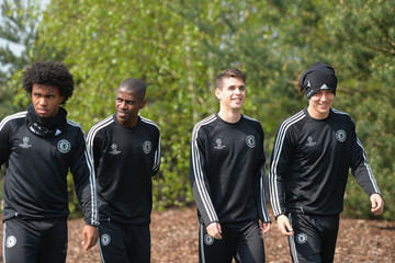 Ramires Chelsea FC Training Session