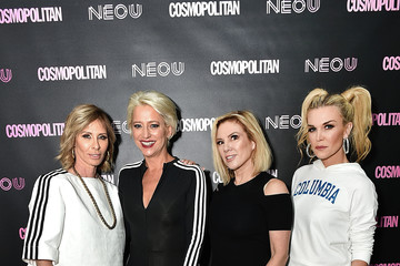Ramona Singer Cosmopolitan and Carole Radziwill Co-Host Opening of NEO U Fitness