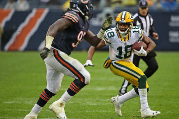 Randall Cobb Green Bay Packers v Chicago Bears