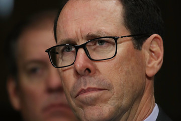 Randall Stephenson CEO's Of AT&T And Time Warner Testify On Merger To Senate Judiciary Committee