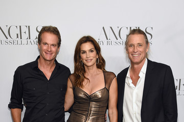 Rande Gerber Cindy Crawford And Candice Swanepoel Host 'ANGELS' By Russell James Book Launch And Exhibit - Arrivals
