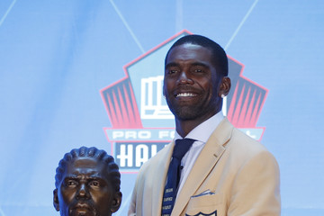 Randy Moss NFL Hall Of Fame Enshrinement Ceremony