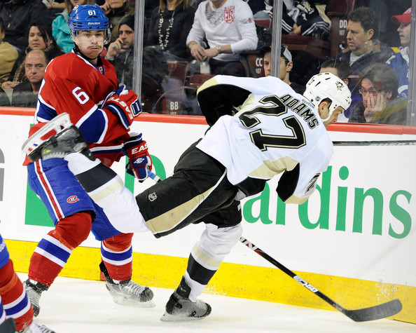 Raphael Diaz - Pittsburgh Penguins v Montreal Canadiens