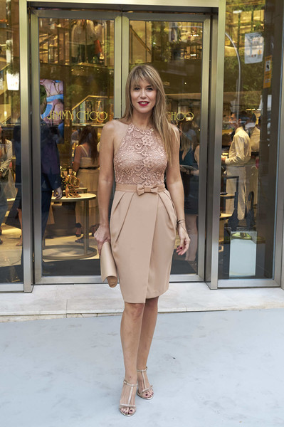 Celebrities Attend Jimmy Choo Boutique Reopening in Madrid