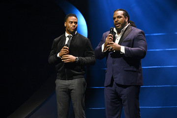 Rashad Jennings BET Presents Super Bowl Gospel Celebration - Show