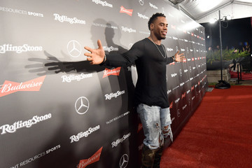 Rashad Jennings Rolling Stone Live: Houston Presented by Budweiser and Mercedes-Benz. Produced in Partnership With Talent Resources Sports. - Arrivals