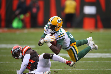 Rashard Higgins Green Bay Packers v Cleveland Browns