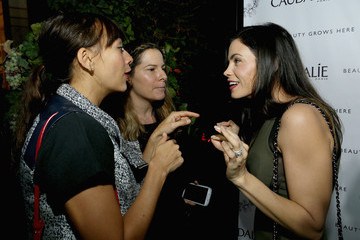 Rashida Jones Caudalie Boutique Spa Grand Opening
