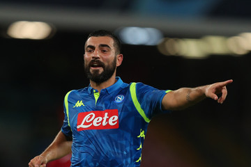 Raul Albiol SSC Napoli vs. Liverpool - UEFA Champions League Group C