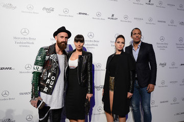 Raul Meireles Bruno Alves VIP Guests at Istanbul Fashion Week