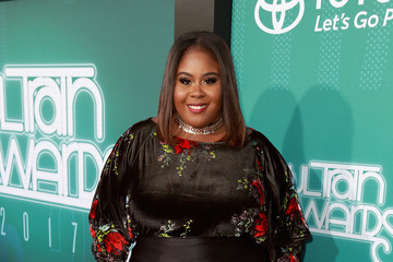 Raven Goodwin BET Presents: 2017 Soul Train Awards - Red Carpet & Arrivals