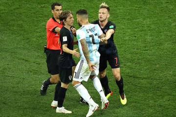 Ravshan Irmatov Argentina vs. Croatia: Group D - 2018 FIFA World Cup Russia