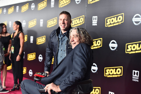 Stars And Filmmakers Attend The World Premiere Of 'Solo: A Star Wars Story' In Hollywood
