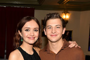 """Olivia Cooke  and Tye Sheridan attend """"Ready Player One"""" Premiere 2018 SXSW Conference and Festivals at Paramount Theatre on March 11, 2018 in Austin, Texas."""