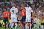 Karim Benzema and Sami Khedira Photos Photo