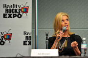 TV personality Ali Brown speaks at Reality Rocks Expo - Day 1 at the Los Angeles Convention Center on April 9, 2011 in Los Angeles, California.