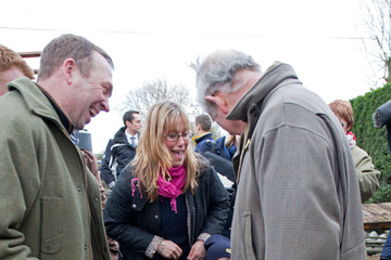Rebecca Curtis Prince Charles Visits Flood-Hit Communities