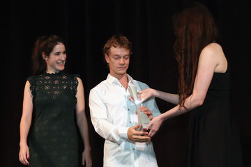 Rebecca Huey SCAD Presents 18th Annual Savannah Film Festival - Alfie Allen Rising Star Award Presentation