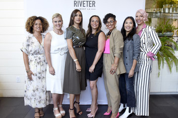 Rebecca King-Crews The Riveter's 'Elevating Women In Their Work' Pop-Up Event
