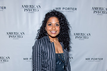 Rebecca Naomi Jones 'American Psycho' Broadway Opening Night - Arrivals & Curtain Call