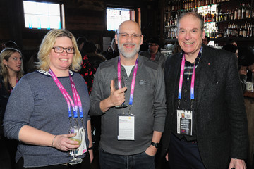 Rebecca Preston Andy Lenning Brunch With The Brits - Park City 2019