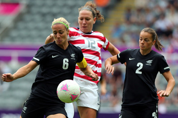 Rebecca Smith Olympics Day 7 - Women's Football Q/F - Match 20 - USA v New Zealand