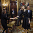 Rebelo de Sousa Spanish Royals Receives Portugal President