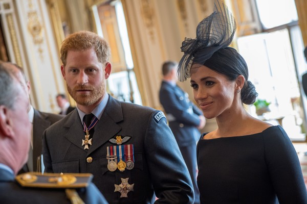 Reception At Buckingham Palace To Commemorate The Royal Air Force's 100th Birthday