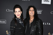 Sheryl Goddard (L) and Alice Cooper attend The Recording Academy And Clive Davis' 2019 Pre-GRAMMY Gala at The Beverly Hilton Hotel on February 9, 2019 in Beverly Hills, California.