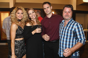 "Brittany Underwood, Autumn Federici, Daniel Vincent Gordh and guest attend the Red Carpet Screening Of ""Babysitter's Nightmare"" By The Ninth House And MarVista Entertainment held at Garry Marshall Theatre on August 3, 2018 in Burbank, California."