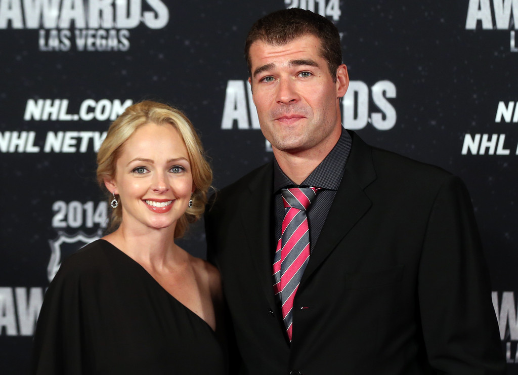 Patrick Marleau And Christina Alvernaz Marleau Photos