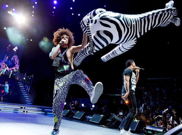 Red Foo - LMFAO And Far East Movement Perform At Staples Center